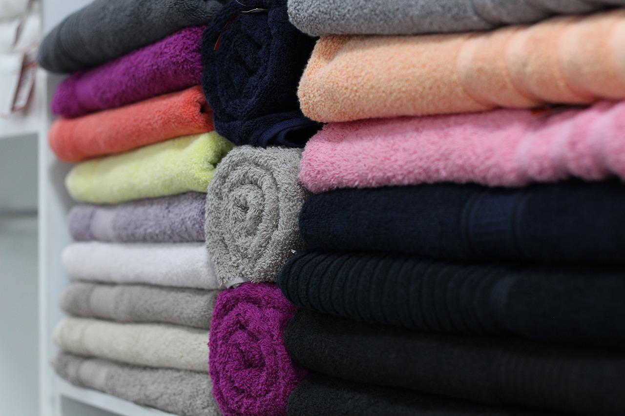 handuk bahan linen