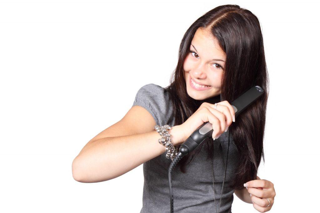 agar rambut tidak kering
