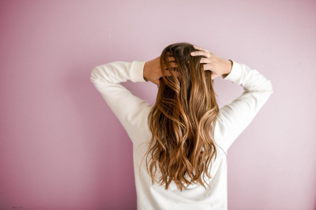 efek mencatok rambut