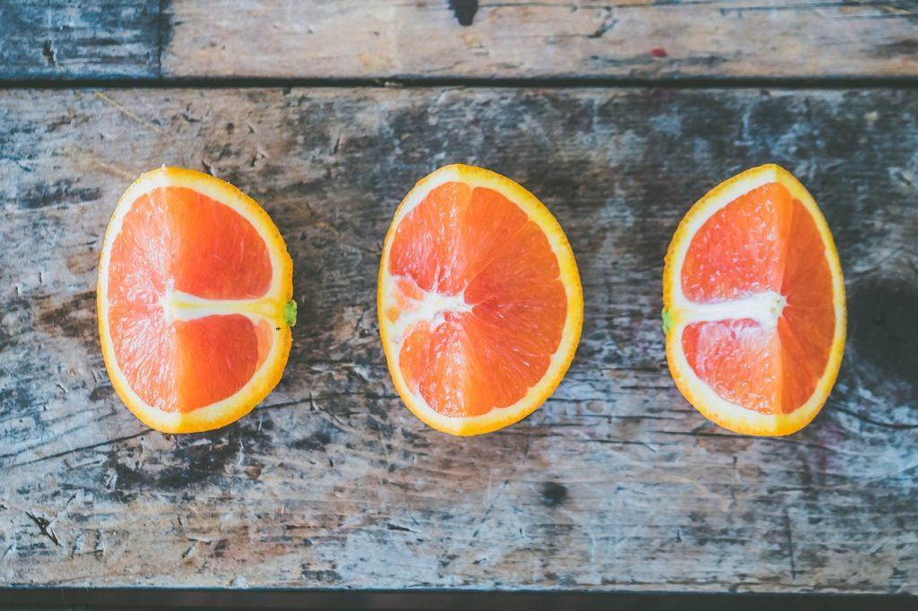 jeruk untuk kulit