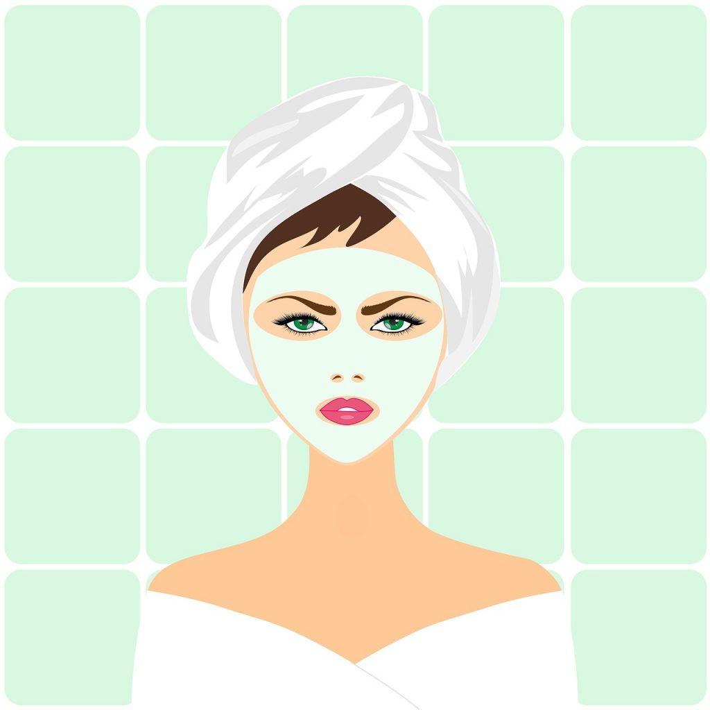 masker putih